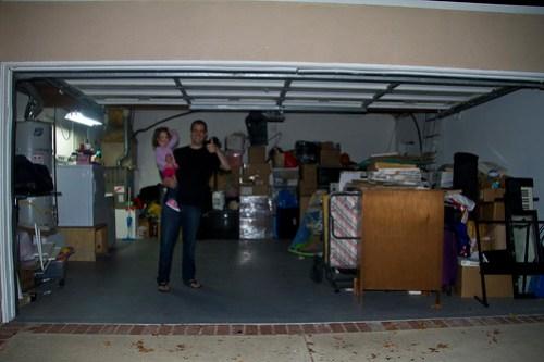 disaster garage - after