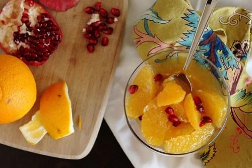 easy moroccan citrus salad