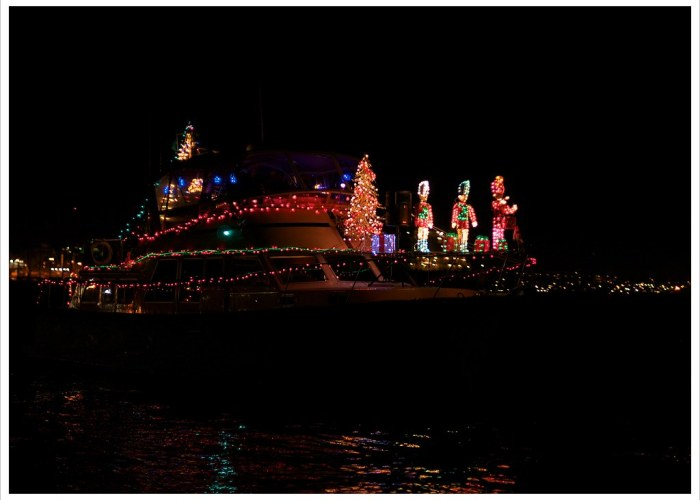 Day 343 - Christmas Boating