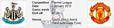6634299935 93c91b06a7 Live Streaming: Newcastle United vs Manchester United | BPL | Games Week 20 Results