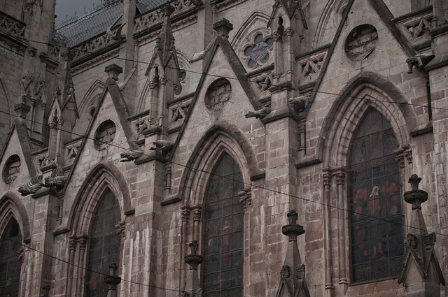 Gargoyles in Quito