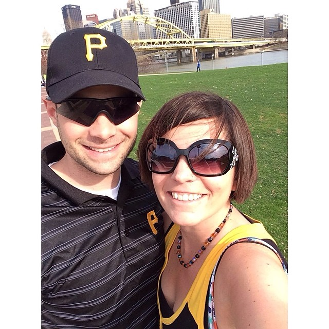 #Pittsburgh selfie! Heading to the @pirates game!