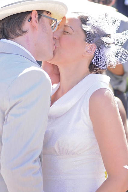 First married kiss