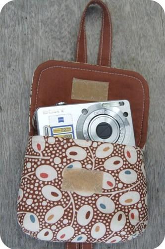 Camera Case Wristlet