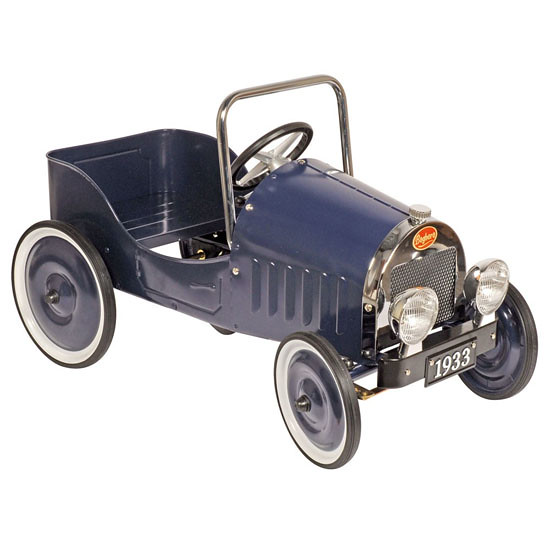 Classic Blue 1933 Baghera childrens pedal car