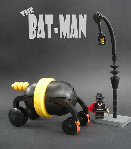 LUGNuts 51st Build Challenge: Batmobile 2025