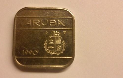 Aruba, 50 cent coin