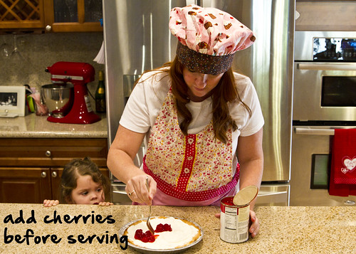 add cherries before serving