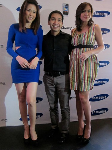 Toni Gonzaga with Coco Domingo & Chesca Litton