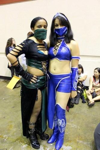 Jade and Kitana - MegaCon 2012