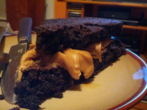 Peanut Butter in my Brownie?