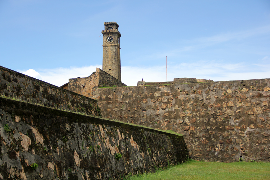Walls of Galle Fort