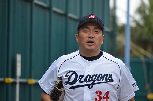 山本昌投手