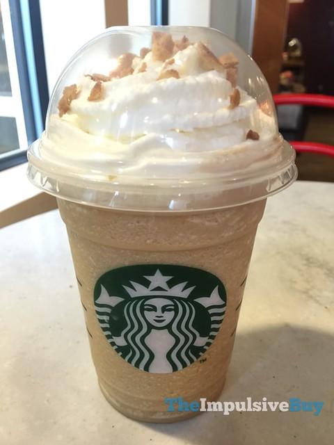 Starbucks Caramel Waffle Cone Frappuccino