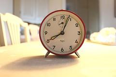 Alarm clock 60s