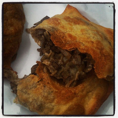 Byrek with meat from the Mediterranean Home Cooking truck