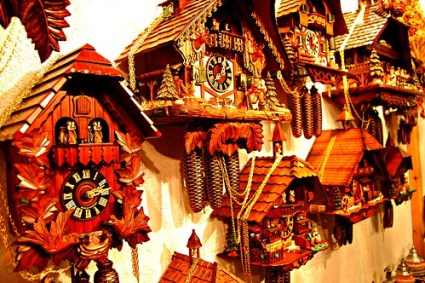 Bavarian Cuckoo clocks