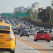 Fighting traffic after open highway can be a challenge - but it's also part of the LA culture.
