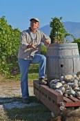 Lanny Martiniuk, proprietor at Stoneboat Vineyards in the South Okanagan