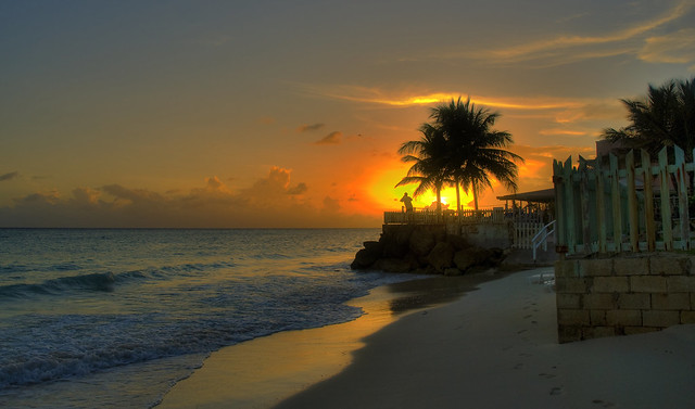 Follow my Footstep to the Sunset. Barbados