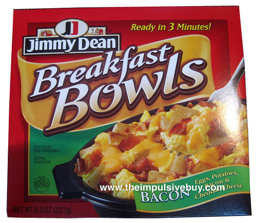 Jimmy Dean Bacon Breakfast Bowl