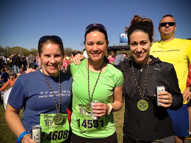 USMA Girls, NoLa 1/2 Marathon