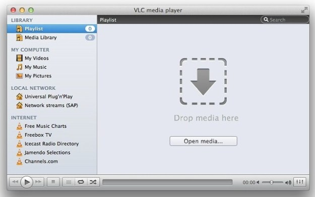 VLC 2.0 gray interface style