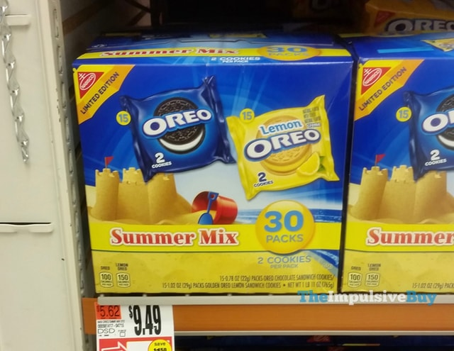 Nabisco Limited Edition Oreo Summer Mix