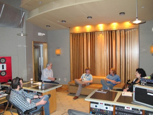 Jeff, Mitch, Brian, Dean, Manager, Studio @ The Palm