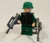 Modern Soldier Front