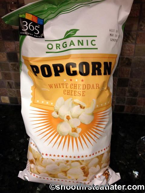 365 organic white cheese popcorn
