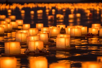 Hawaii Lantern Floating Ceremony 2016