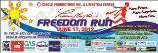 LimKetKai Freedom Run - Results and Photos