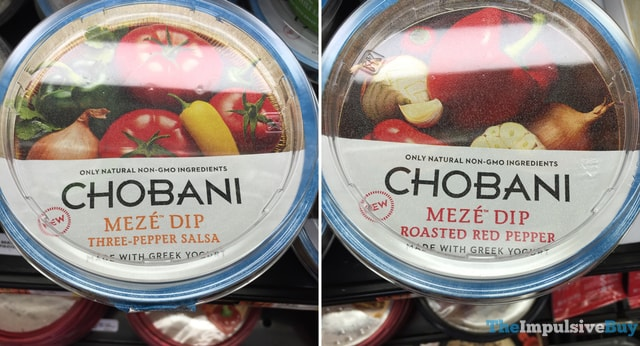 Chobani Meze Dip (Three-Pepper Salsa and Roasted Red Pepper)