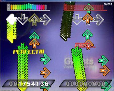 Gameplay de Step Mania