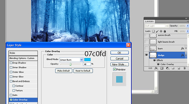 color overlay