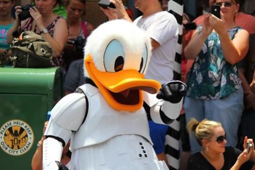 Donald Duck Stormtrooper