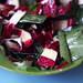 bärlauch-radicchio-salat mit kürbiskernöl-ahorn-vinegraitte