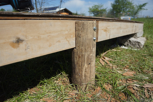 Small Tool Shed Foundation