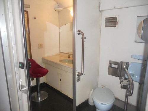PNR train lavatory