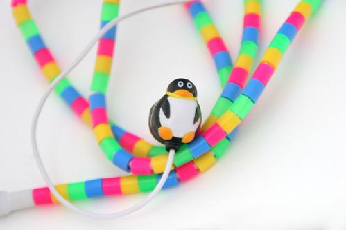 Penguin earbuds!
