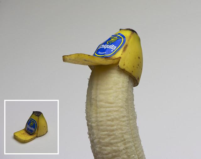 Banana Peel Trucker Hat (For Bananas)