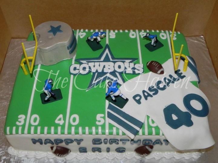 2014 Dallas Cowboys Birthday Cake