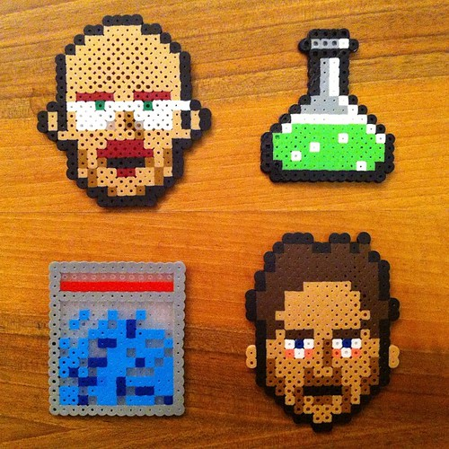 Breaking Bad Perler bead pixel art