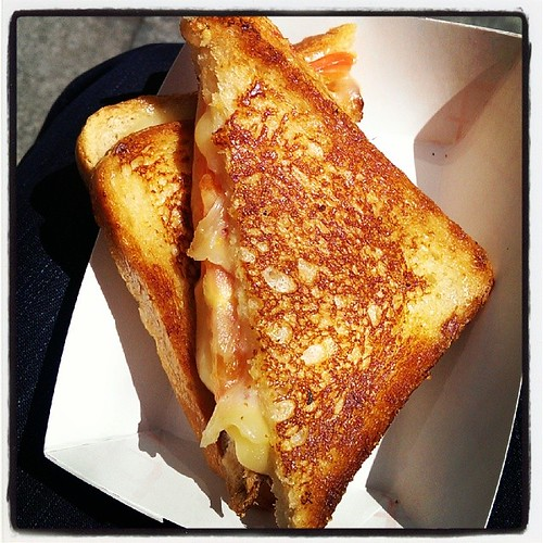 The Rookie Melt at Roxy's Grilled Cheese