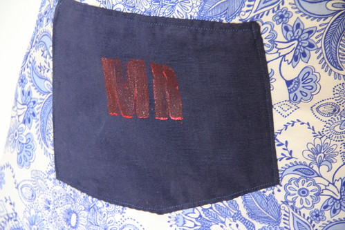 Groom apron