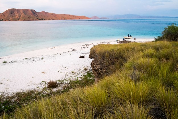 Sunset island. Komodo