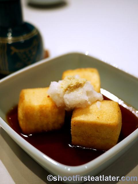 agedashi tofu P300