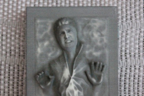 Carbon Freeze Me figure with Ricky Brigante's face