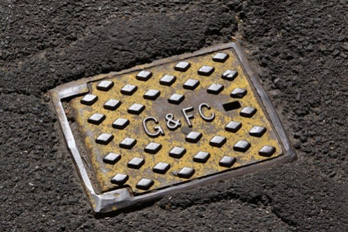 Gas and Fuel Corporation manhole cover